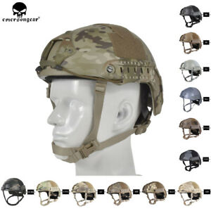 Emerson Tactical MH FAST Helmet MICH Ballistic Type Advanced w NVG shroud Rails