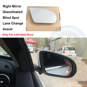 Blind Spot Lane Change Assist Right Rearview Wing Mirror Fit For Benz W205 W213