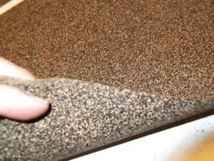 Large Cork Sheet Automotive Vehicle Gasket Material 500mm X 1000mm X 3mm Thick