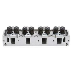 Edelbrock Cylinder Head Assy 60075 Performer Rpm 170cc 76cc For Ford 390 428 Fe