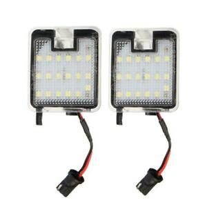 2x Led Under Side Mirror Puddle Lights For Ford C Max Focus Kuga Escape Jf E