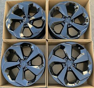 19 Honda Accord Touring 2018 2019 Oem Factory Wheels Rims 64126 Gloss Black