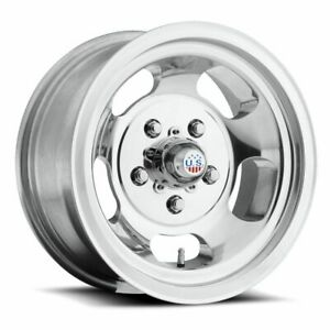 Four 4 15x7 Us Mag Indy Et 5 Polished 5x101 6 5x4 Wheels Rims