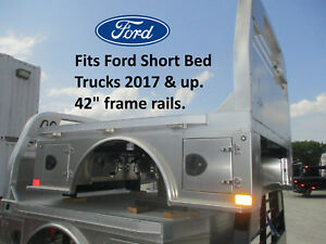 2017 And Up Ford Short Bed Cm Aluminum Flatbed Body Alsk2 40 Ca 42 R 231134