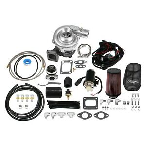 Holley Sts Turbo Remote Mounted Single Turbocharger Kit