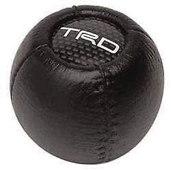 Lc Engineering 1097036 Round Leather Shifter Knob W Trd Logo
