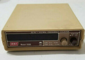 Dsi Instruments 5500 50 Hz 512 Mhz Frequency Counter