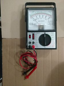 Sears 5190 Multi Tester Test Meter With Leads Excellent Condition Not A Scratch