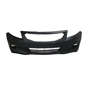 Fits 2011 2012 Honda Accord Coupe Front Bumper Cover 101 51176 Capa