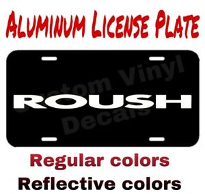 Aluminum License Plate Roush Many Colors Reflective Colors