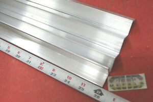 4 Pieces 1 X 1 8 Wall Aluminum 6061 Angle Bar 36 Long T6 Mill Stock