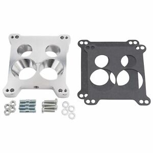 Edelbrock 2696 Square Bore To Spread Bore Carburetor Adapter Plate