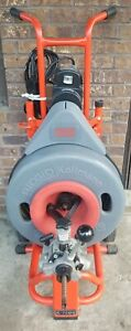 Ridgid Powered K 7500 Drain Cleaning Drum Machine Excellent Used 1 Day Look
