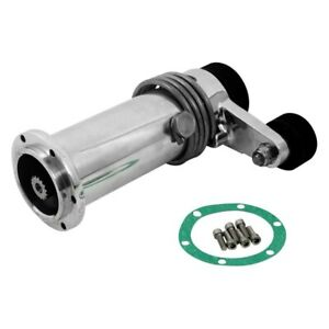 For Gmc C3500 79 98 Weiand Pro street Polished Supercharger Short Nose Assembly