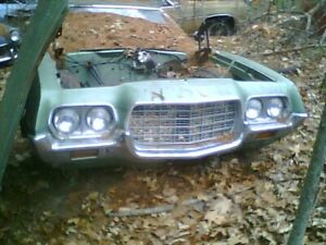 1972 Ford Gran Torino Ranchero Gts Grille Grille Surround And Metal Trim
