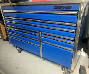 Snap On Epiq Series 68 Toolbox With Stainless Steel Power Top