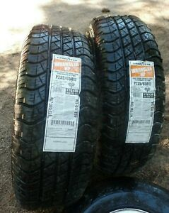 Goodyear Wrangler 17 Inch Tires Set Of 2 Still With New Stickers 235 65 r17