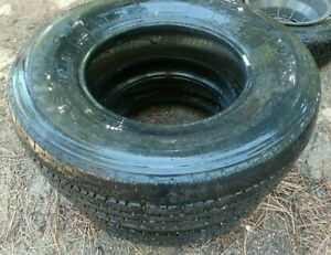 Firestone Transforce Ht 16 Inch Truck Tires Set Of 2 Used Lt 245 75 R16