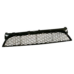 Front Bumper Cover Grille Made Of Plastic Fits 2004 2006 Mazda 3 Capa