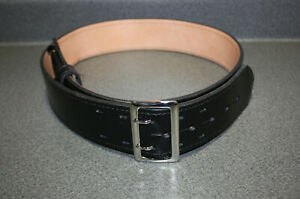 Gould Goodrich Sam Browne Lined Leather Duty Belt Size 40