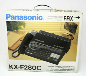 Vintage Panasonic Telephone Answering System Fax Machine Kx f280c