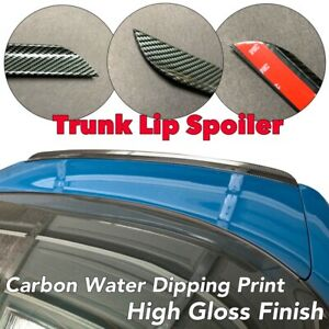Carbon Look Water Dipping Print Trunk Boot Lip Spoiler For 99 05 Is300 Altezza