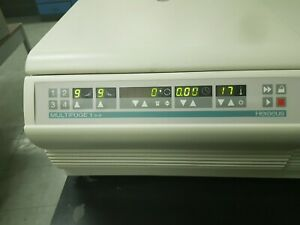 Thermo Scientific Multifuge 1s r Is A Refrigerated Centrifuge