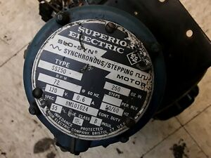 Superior Electric Synchronous Stepping Motor Unit Ss250