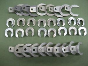 16 New Nors Valve Retainers Locks Split Guide Clips 1934 1947 Ford 6 Cyl V 8