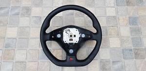 Steering Wheel Audi 80 S2 S4 A4 B5 A6 C4 S6 New Leather Flat Bottom