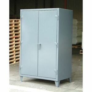 Strong Hold 56 304 Storage Cabinet 12 Ga 78 In H 60 In W