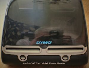Dymo Labelwriter 450 Twin Turbo Thermal Label Printer Model 1750160 2296638