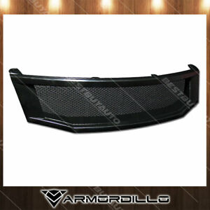 Fits 2008 2010 Honda Accord Mesh Grille Replacement Black