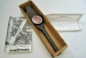 Gte50a Usa Snap on 3 8 Drive Torq Meter Torque Wrench 0 600 Inch Pound