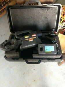 Huskie Rec 3610 Robo crimp Battery Operated Compression Tool Crimper Crimping