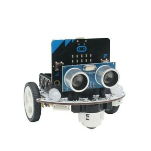 2wd Programmable Robot Car Kit Unfinished Microbit Robot Car W microbit Board