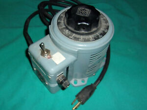 Superior Electric Powerstat 3pn116b Variable Autotransformer Tested Ok Clean