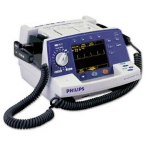 Philips Heartstart Xl Defibrillator Biphasic Pacing Ecg Recorder