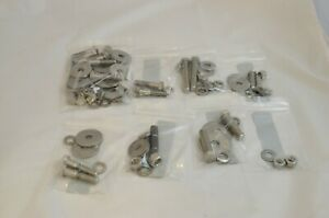 Triumph Car Tr6 Tr250 Tr4a Body To Frame Fastener Kit Stainless Steel