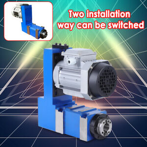 Bt30 Spindle Unit Power Head 370 Motor For Cnc Engraving Milling Drill Machine