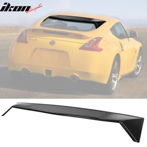 Fits 09 19 Nissan 370z 2dr Coupe Rear Window Roof Spoiler Wing Pp