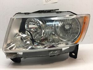 2011 2012 2013 Jeep Grand Cherokee Headlight Left Driver Lh Oem Lamp 55079379ae
