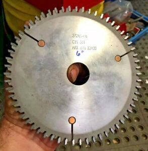 6 Carbide 60 Tooth C15 27245 04 Saw Blade Milling Cutter From Vinyl Window Mfg