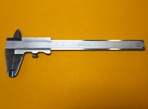 Vintage Mahr 16nz Stainless 0 6 Inch Analog Vernier Caliper Made In Germany