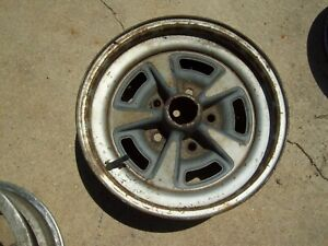 1 15x6 Pontiac Buick Chevy Steel Wheel