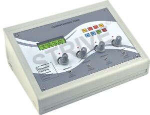 4 Channel Lcd Electrotherapy Cont Pulse Massager Machine Body Therapy Unit Ten