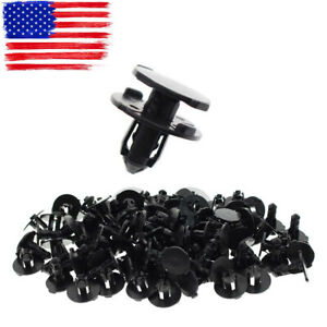 50pcs Bumper Splash Shield Push Clip Retainer 01553 09321for Nissan Am 946964203