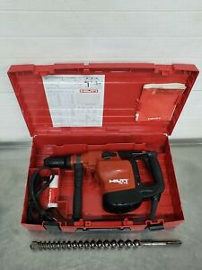 Hilti Te 76 Concrete Pavement Rotary Hammer Drill With Case 1 1 4 Bit Nice