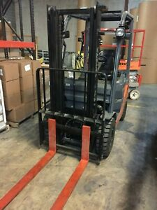 2016 Toyota Forklift gas Model 8fgu15 Free Shipping 62 Actual Hours