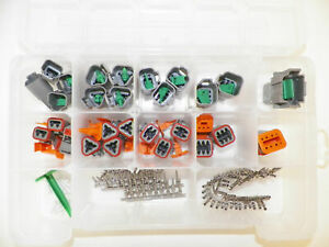 179 Pc Gray Deutsch Dt Connector Kit Stamped Contacts Removal Tools